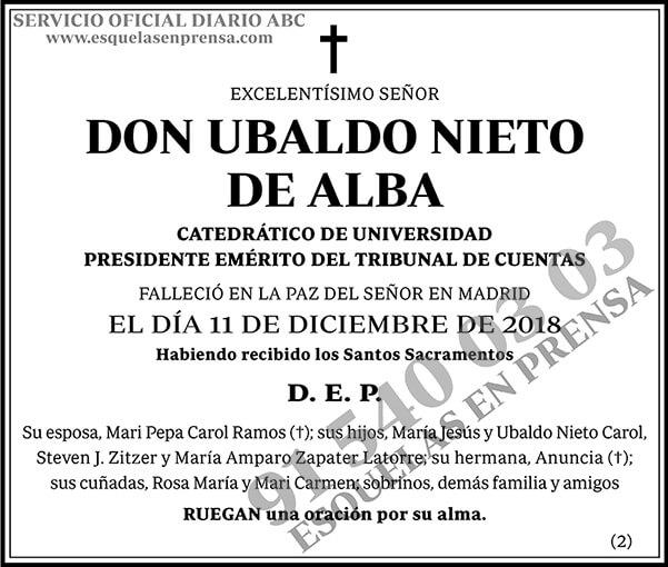 Ubaldo Nieto de Alba